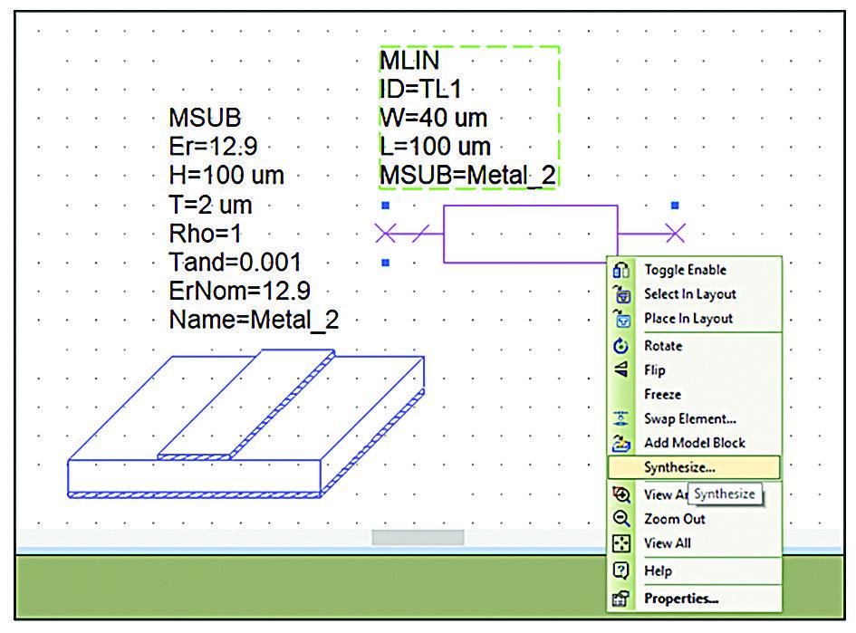 С AWR Design Environment V15 программного обеспечения Microwave Office разработчики могут напрямую синтезировать микрополосковые, полосковые и копланарные волноводные линии передачи из расчетных параметров