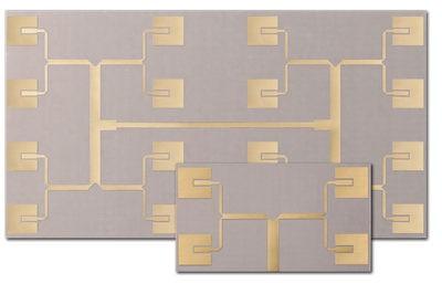 В состав диэлектриков для антенн серии AD входит политетрафторэтилен со специальными наполнителями и стекловолоконным армированием для обеспечения низкого уровня ПИМ