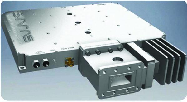 Твердотельный усилитель мощности для наземных станций спутниковой связи