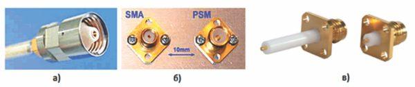 Кабельная вилка PSM, фланцевые соединители SMA и PSM, выводы энергии PSM (в)