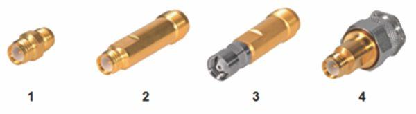 Адаптеры PSM: PSM розетка – PSM розетка; PSM розетка – TNC розетка; PSM вилка – TNC розетка; PSM розетка – TNC вилка