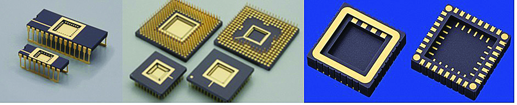 Керамические корпуса CDIP (Ceramic Dual Inline Packages), CPGA (Ceramic Pin Grid Array) и C-SMD (Ceramic Surface Mount Device)