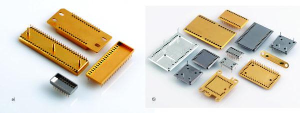 Компоненты корпусов металлических плагинов (Metal Plug-ins) компании AMETEK