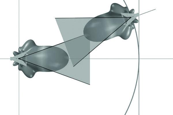 Идеализированный РИЦ (схема)