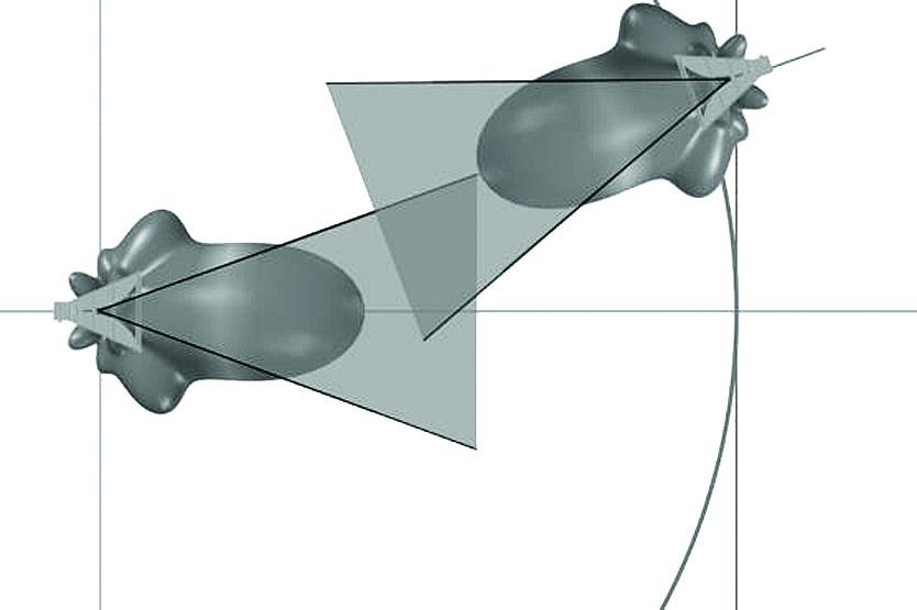 Ортогональный РИЦ с устройством слежения