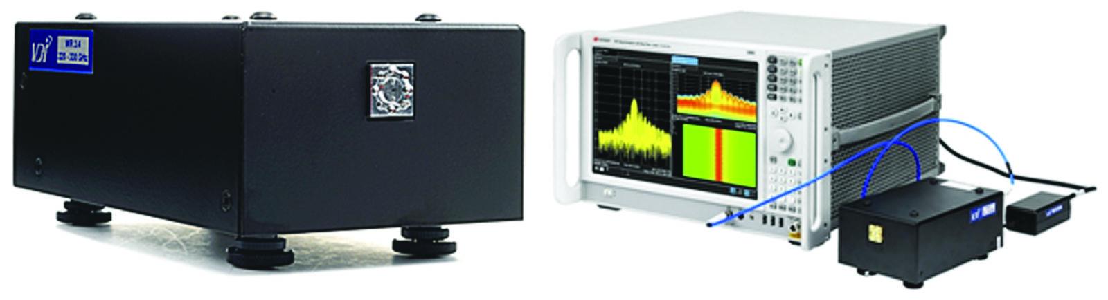 Модель расширителя частот N9029AV03 перекрывает диапазон WR3.4 220–330 ГГц