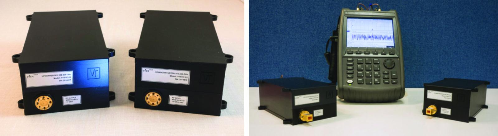 300-ГГц расширители частот компании VivaTech для портативных РЧ-анализаторов от Keysight (Agilent) FieldFox