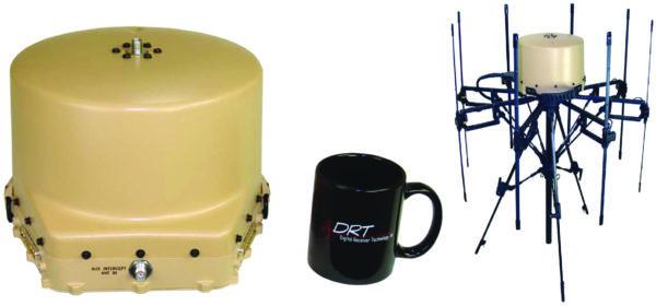 Переносная антенная система пеленгации DF240C от компании Digital Receiver Technology