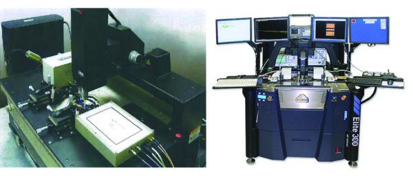Модуль измерения шумовых характеритик MT7553B в типовой системе на пластине (on-wafer setup) с измерением параметров шума на частотах 10 МГц…50 ГГц
