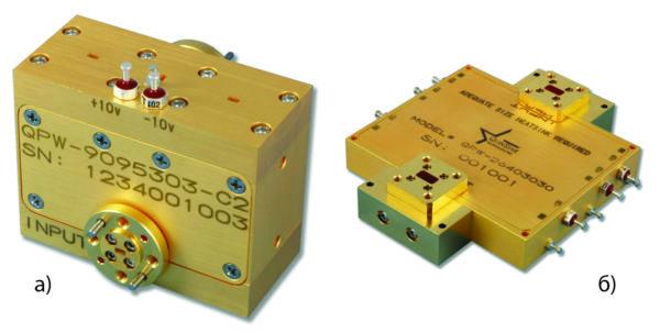 Усилители мощности в волноводном выполнении серии QPI компании QuinStar Technology