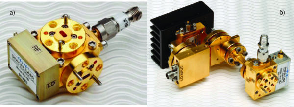 Волноводный смеситель модели MV-1B серии Series V-Band Biased Mixer и смеситель W-диапазона с умножителем частоты гетеродина от компании Spacek Labs