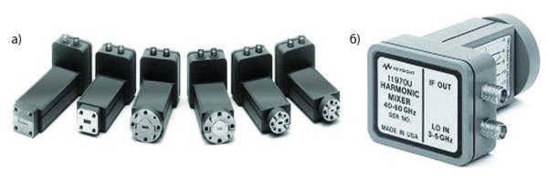 Гармониковые смесители серии 11970 компании Agilent диапазона 18–110 ГГц в волноводном выполнении