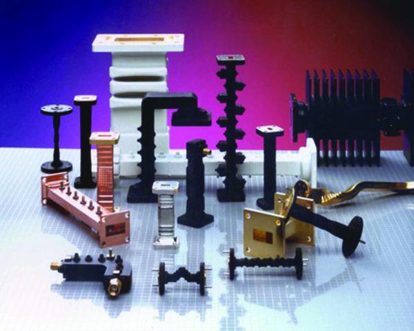 Волноводные компоненты компании General Dynamics SATCOM Technologies