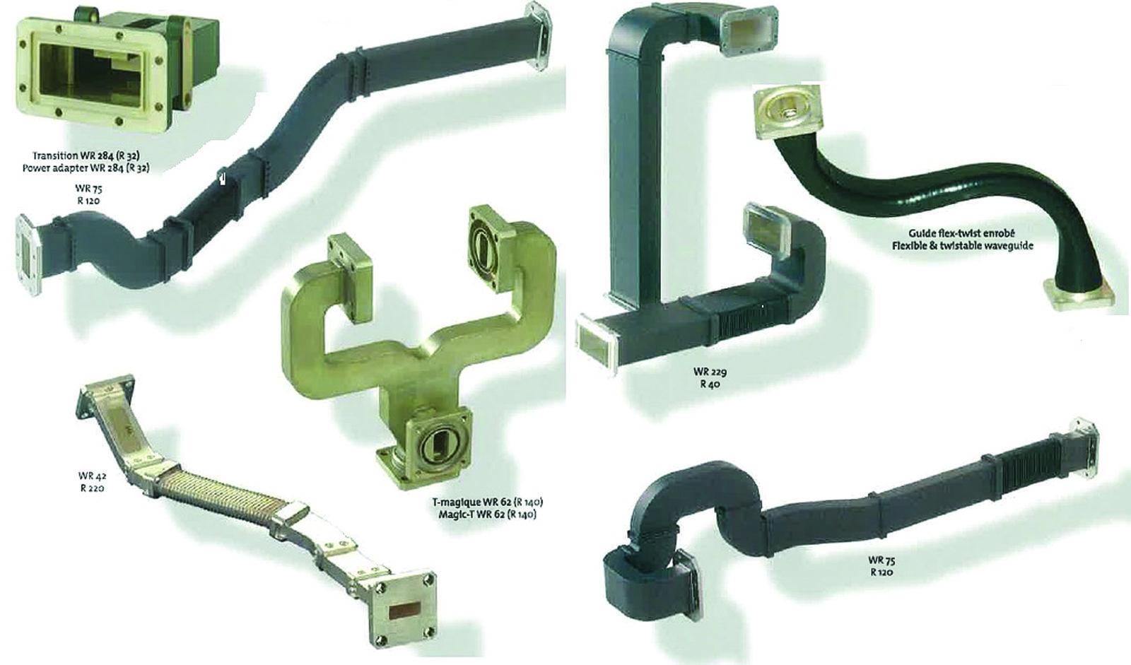 Волноводные компоненты компании AML