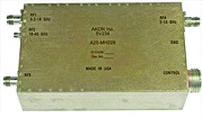 Входной широкополосный РЧ-преобразователь A25-MH229 диапазона 0,5–40 ГГц компании AKON