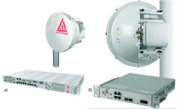 ODU-IDU вариант выполнения РРС компании Alcoma и NEC IPASOLINK 100E