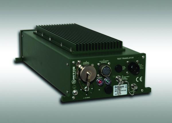 Устанавливаемый на антенне наружный блок SATCOM Series Q-диапазона компании MITEQ