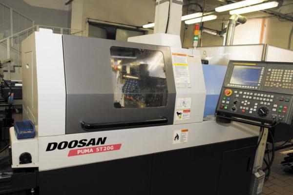 Doosan Puma GT-20 — токарный автомат продольного точения с ЧПУ