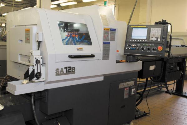 Nexsturn SA12B — токарный автомат продольного точения с ЧПУ