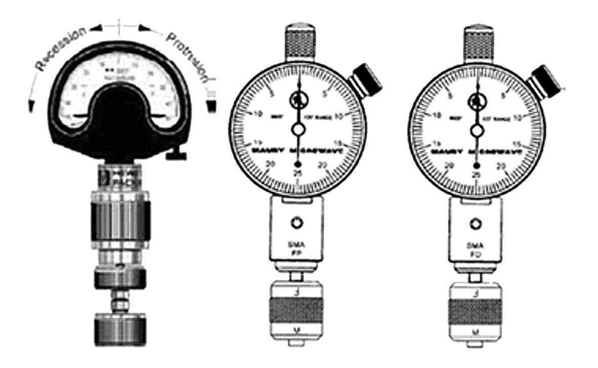 Образцы инструмента для контроля размеров соединителей
