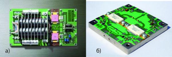 Усилительные паллеты, разработанные Научно-исследовательским институтом электронной техники АО «НИИЭТ» моделей УМ0328-1000 (M421354) и М44265