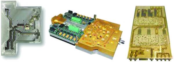Примеры трех основных видов сборок, производимых компанией L3 Narda-MITEQ