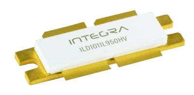 ILD1011L950HV — кремниевый LDMOS-транзистор с импульсной выходной мощностью 1100 Вт на частоте 1030 МГц при усилении импульсного сигнала в режиме Mode-S ELM в системах вторичной радиолокации