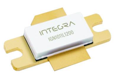 IGN1011L1200 — мощный GaN-on-SiC транзистор с импульсной выходной мощностью 1250 Вт. Транзистор предназначен для работы на частотах 1030 и 1090 МГц в режиме Mode-S ELM в составе систем вторичной радиолокации