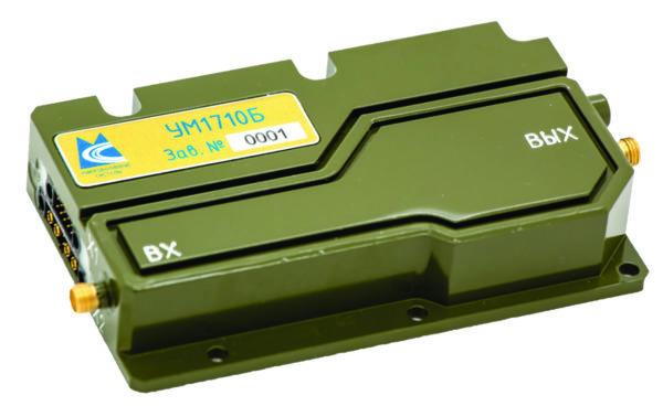 Внешний вид усилителя УМ1710Б