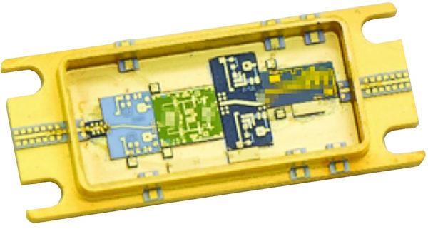 Конструкция интегрального усилительного модуля