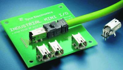 Промышленный соединитель ввода-вывода Tyco Electronics