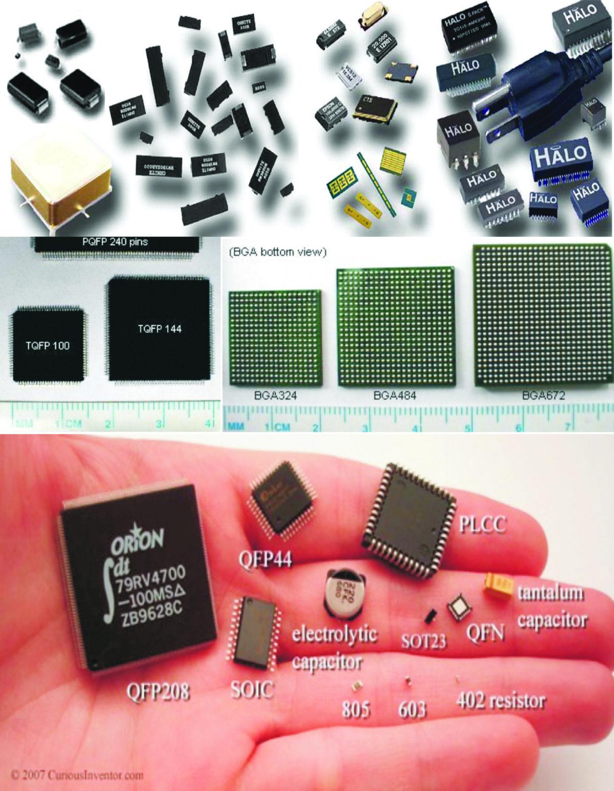Примеры SMT-компонентов