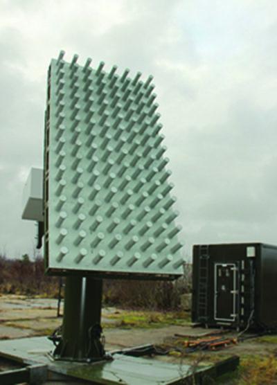 АС на основе ФАР со встроенным цифровым приемником