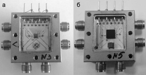 Корпус модуля СВЧ для СнК: исполнение с чип-компонентом; исполнение в корпусе QFN32