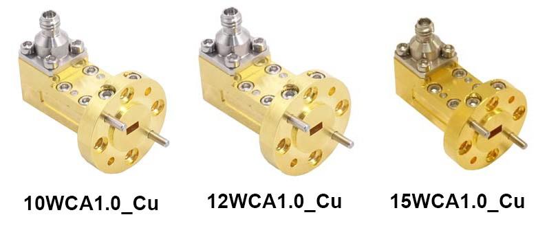 Коаксиально-волноводные адаптеры на частотный диапазон до 110 ГГц от A-INFO