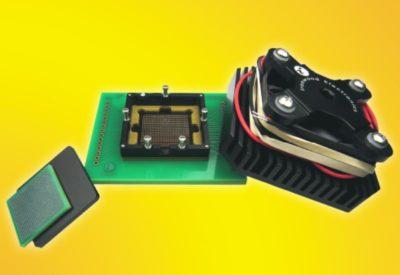 Высокочастотное и высокотемпературное тестовое СВЧ-гнездо компании Ironwood Electronics - GT-BGA-2135